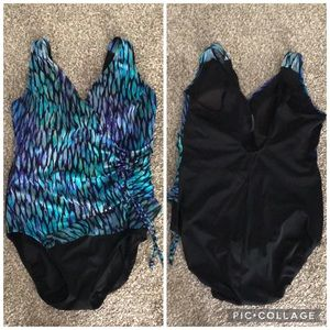 Inches Away Slimming Swimsuit size 12
